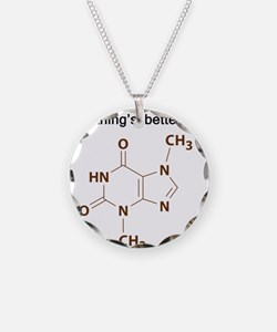 Chocolate Chemistry Necklace