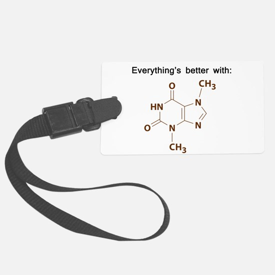 Chocolate Chemistry Luggage Tag