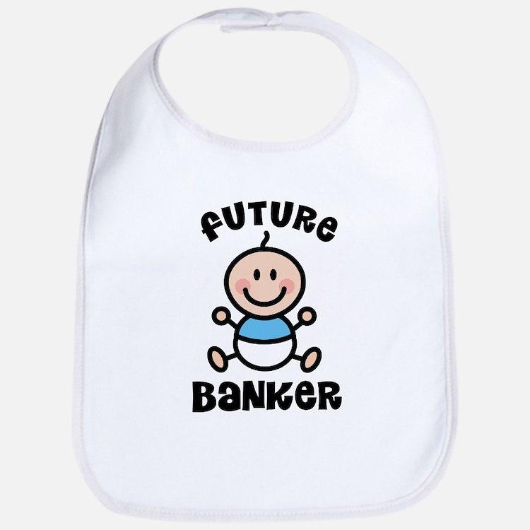 Future Banker Bib