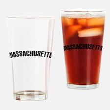 Massachusetts-01 Drinking Glass