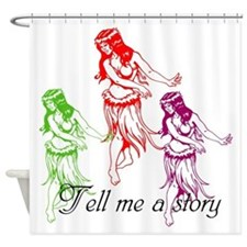 Island Love Shower Curtain