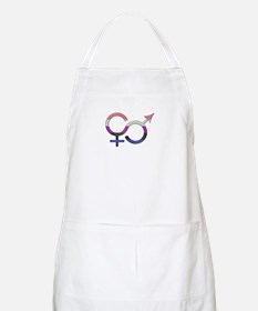 Gender Fluid Symbol Apron