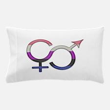 Gender Fluid Symbol Pillow Case