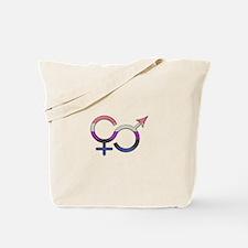 Gender Fluid Symbol Tote Bag