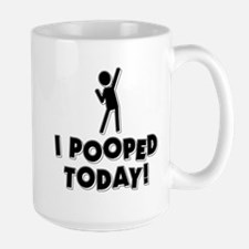 poopedtoday Mugs