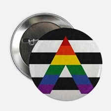 "Ally Flag 2.25"" Button"