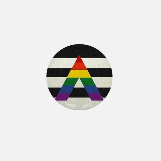 Ally Flag Mini Button