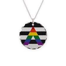 Ally Flag Necklace