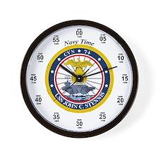 USS John C. Stennis CVN-74 Wall Clock