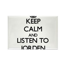 Keep Calm and Listen to Jorden Magnets