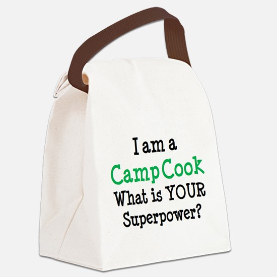 camp cook Canvas Lunch Bag