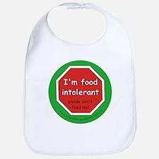I'm food intolerant Bib