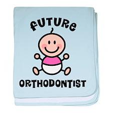 Future orthodontist baby blanket