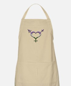 Genderqueer Pride Gender Neutral Symbol Apron