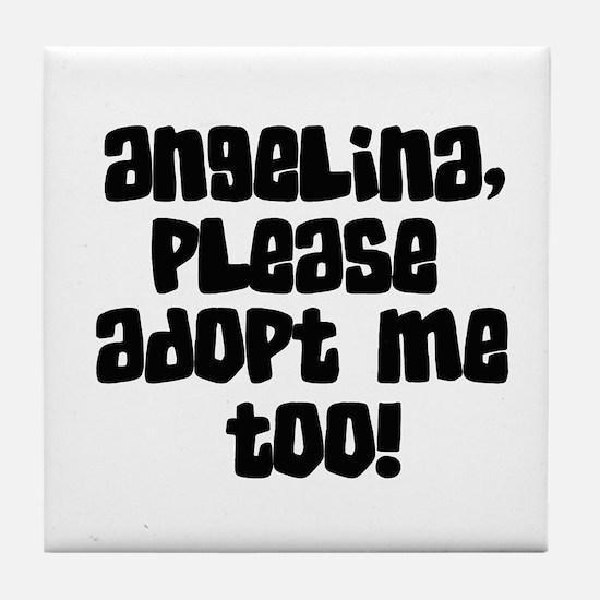 Angelina - Please Adopt Me To Tile Coaster