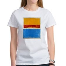 ROTHKO BLUE YELLOW RED Tee