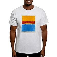 ROTHKO BLUE YELLOW RED T-Shirt