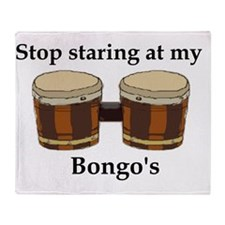 Cute Bongo Throw Blanket