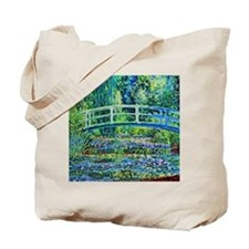 Monet - Water Lily Pond Tote Bag