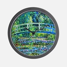 Monet - Water Lily Pond Wall Clock