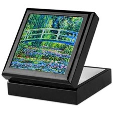 Monet - Water Lily Pond Keepsake Box