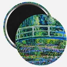Monet - Water Lily Pond Magnet