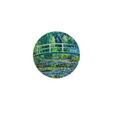 Monet - Water Lily Pond Mini Button