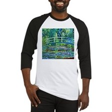 Monet - Water Lily Pond Baseball Jersey