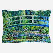 Monet - Water Lily Pond Pillow Case