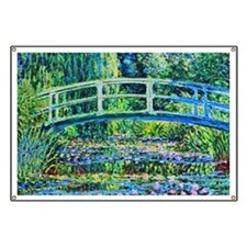Monet - Water Lily Pond Banner