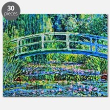 Monet - Water Lily Pond Puzzle