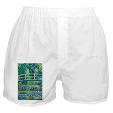 Monet - Water Lily Pond Boxer Shorts