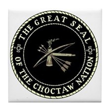 CHOCTAW SEAL Tile Coaster