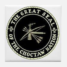 CHOCTAW SEAL Tile Coaster