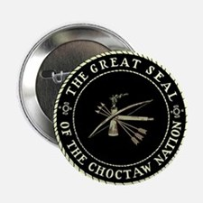 """CHOCTAW SEAL 2.25"""" Button"""