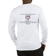 Darn right I look good long-sleeve PPCM t-shirt