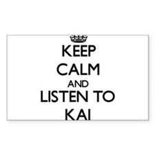 Keep Calm and Listen to Kai Decal