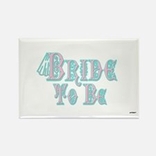 Bride To Be With Veil, Fancy Pink and Teal Type Ma