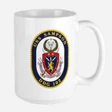 USS Sampson DDG-102 Mugs