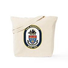 Uss Sterett Ddg-104 Tote Bag
