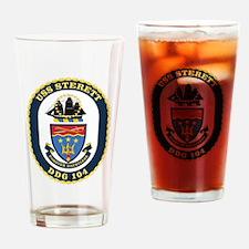 USS Sterett DDG-104 Drinking Glass
