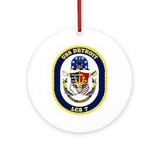 Uss Detroit Lcs-7 Ornament (round)