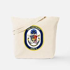 Uss Detroit Lcs-7 Tote Bag