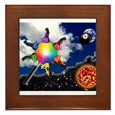 Abstract Art -001 Framed Tile