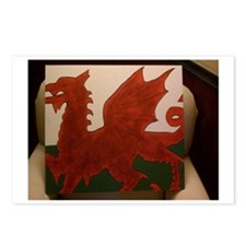 Flying Dragon Painting Postcards (Package of 8)