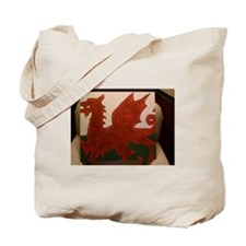 Flying Dragon Painting Tote Bag