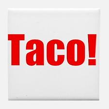 Taco Tile Coaster