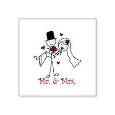 Mr And Mrs Sticker