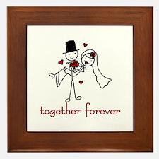Together Forever Framed Tile