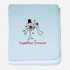 Together Forever baby blanket